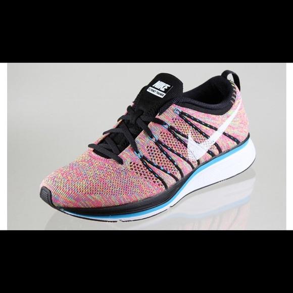 check out 29236 acedd Nike Flyknit Trainer+ Multicolor - Size M8. M5b79ccb010fc54080bcf2e73